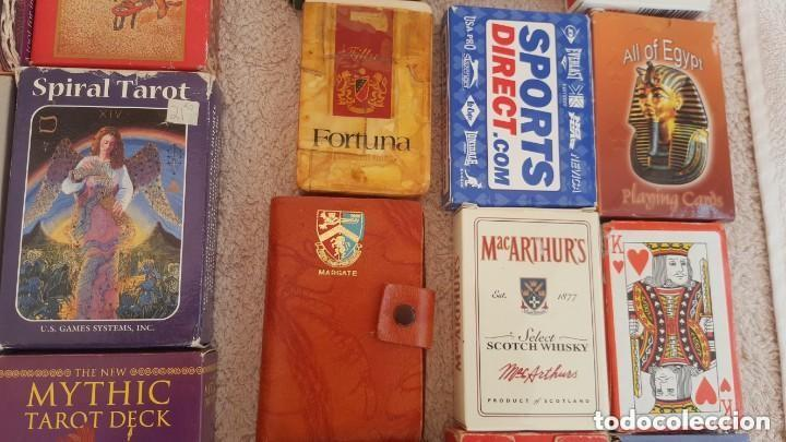Barajas de cartas: COLECCION DE 60 CARTAS TAROT, ORACULOS, CARTAS ADIVINATORIAS, JUEGOS DE CARTAS, LIBROS - Foto 13 - 132897130