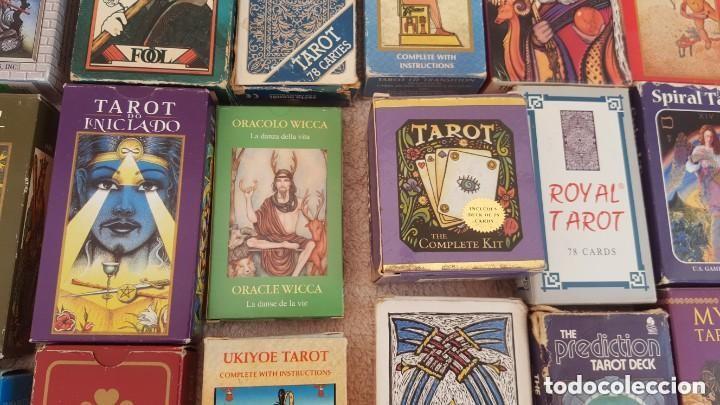Barajas de cartas: COLECCION DE 60 CARTAS TAROT, ORACULOS, CARTAS ADIVINATORIAS, JUEGOS DE CARTAS, LIBROS - Foto 14 - 132897130
