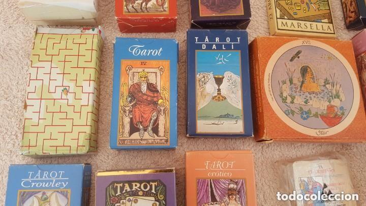 Barajas de cartas: COLECCION DE 60 CARTAS TAROT, ORACULOS, CARTAS ADIVINATORIAS, JUEGOS DE CARTAS, LIBROS - Foto 16 - 132897130