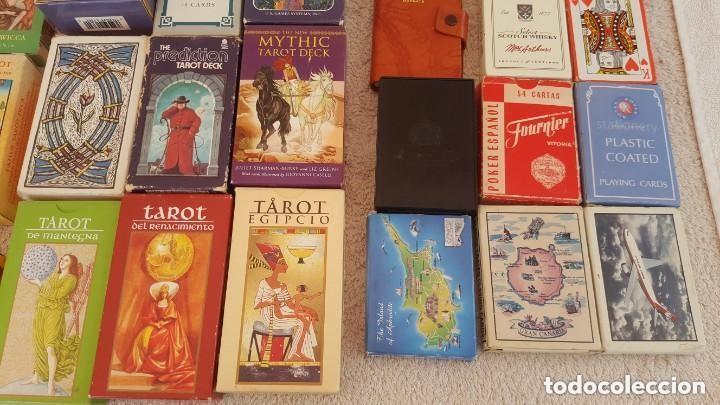 Barajas de cartas: COLECCION DE 60 CARTAS TAROT, ORACULOS, CARTAS ADIVINATORIAS, JUEGOS DE CARTAS, LIBROS - Foto 19 - 132897130