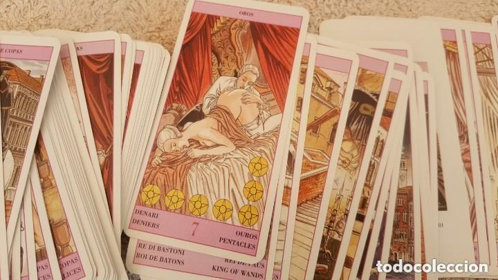 Barajas de cartas: COLECCION DE 60 CARTAS TAROT, ORACULOS, CARTAS ADIVINATORIAS, JUEGOS DE CARTAS, LIBROS - Foto 22 - 132897130