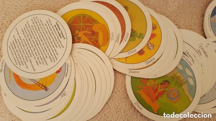 Barajas de cartas: COLECCION DE 60 CARTAS TAROT, ORACULOS, CARTAS ADIVINATORIAS, JUEGOS DE CARTAS, LIBROS - Foto 26 - 132897130