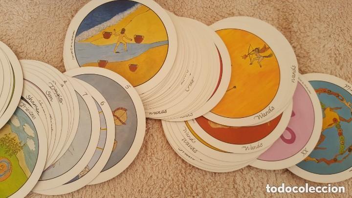 Barajas de cartas: COLECCION DE 60 CARTAS TAROT, ORACULOS, CARTAS ADIVINATORIAS, JUEGOS DE CARTAS, LIBROS - Foto 27 - 132897130