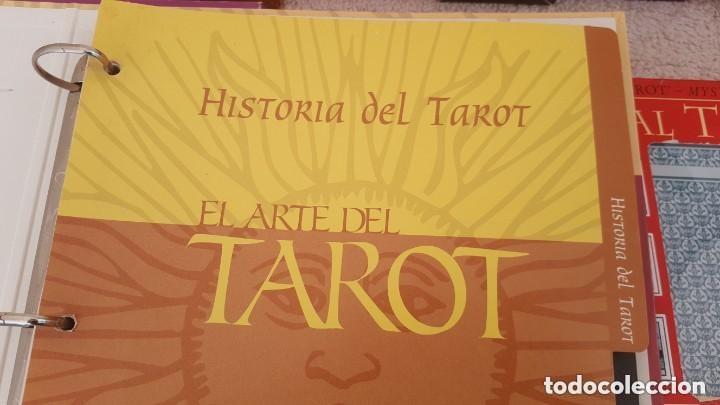 Barajas de cartas: COLECCION DE 60 CARTAS TAROT, ORACULOS, CARTAS ADIVINATORIAS, JUEGOS DE CARTAS, LIBROS - Foto 30 - 132897130