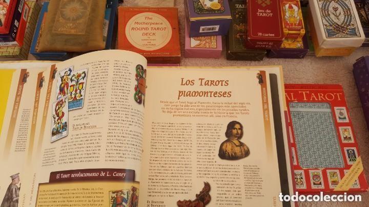 Barajas de cartas: COLECCION DE 60 CARTAS TAROT, ORACULOS, CARTAS ADIVINATORIAS, JUEGOS DE CARTAS, LIBROS - Foto 31 - 132897130