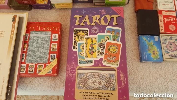 Barajas de cartas: COLECCION DE 60 CARTAS TAROT, ORACULOS, CARTAS ADIVINATORIAS, JUEGOS DE CARTAS, LIBROS - Foto 32 - 132897130