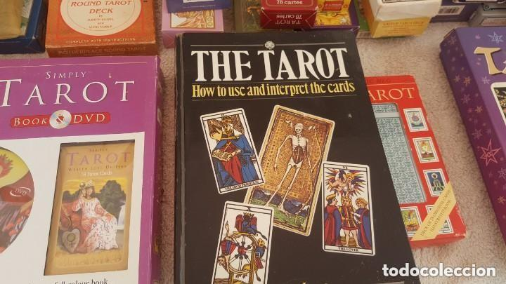 Barajas de cartas: COLECCION DE 60 CARTAS TAROT, ORACULOS, CARTAS ADIVINATORIAS, JUEGOS DE CARTAS, LIBROS - Foto 35 - 132897130