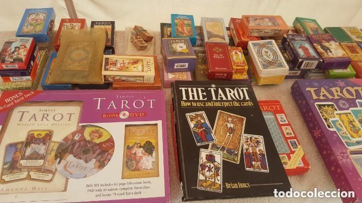 Barajas de cartas: COLECCION DE 60 CARTAS TAROT, ORACULOS, CARTAS ADIVINATORIAS, JUEGOS DE CARTAS, LIBROS - Foto 36 - 132897130