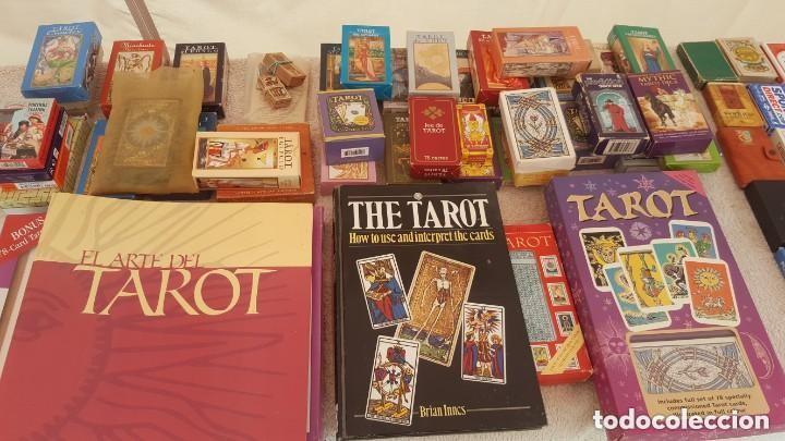 Barajas de cartas: COLECCION DE 60 CARTAS TAROT, ORACULOS, CARTAS ADIVINATORIAS, JUEGOS DE CARTAS, LIBROS - Foto 37 - 132897130