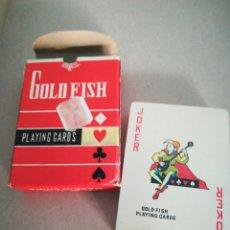 Barajas de cartas: BARAJA PÓQUER CHINA GOLD FISH. Lote 132905305