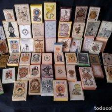 Barajas de cartas: LOTE DE 52 BARAJAS DE NAIPES FACSÍMILES DE LOS EJEMPLARES DEL MUSEO FOURNIER DE ALAVA.. Lote 132961918