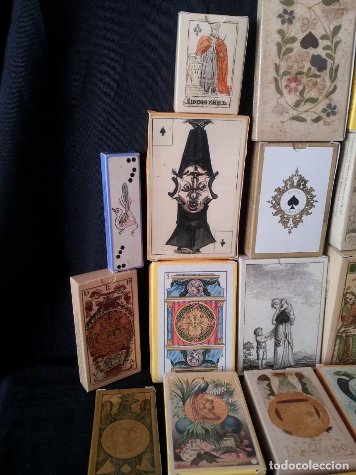 Barajas de cartas: LOTE DE 52 BARAJAS DE NAIPES FACSÍMILES DE LOS EJEMPLARES DEL MUSEO FOURNIER DE ALAVA. - Foto 2 - 132961918