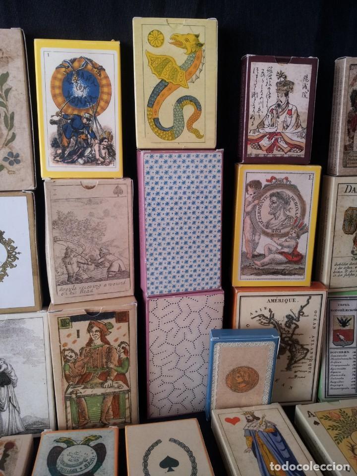 Barajas de cartas: LOTE DE 52 BARAJAS DE NAIPES FACSÍMILES DE LOS EJEMPLARES DEL MUSEO FOURNIER DE ALAVA. - Foto 3 - 132961918