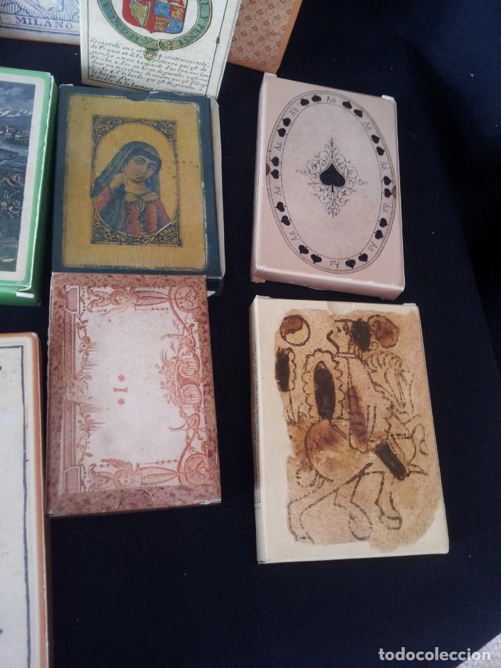 Barajas de cartas: LOTE DE 52 BARAJAS DE NAIPES FACSÍMILES DE LOS EJEMPLARES DEL MUSEO FOURNIER DE ALAVA. - Foto 5 - 132961918