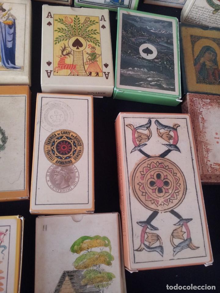 Barajas de cartas: LOTE DE 52 BARAJAS DE NAIPES FACSÍMILES DE LOS EJEMPLARES DEL MUSEO FOURNIER DE ALAVA. - Foto 6 - 132961918