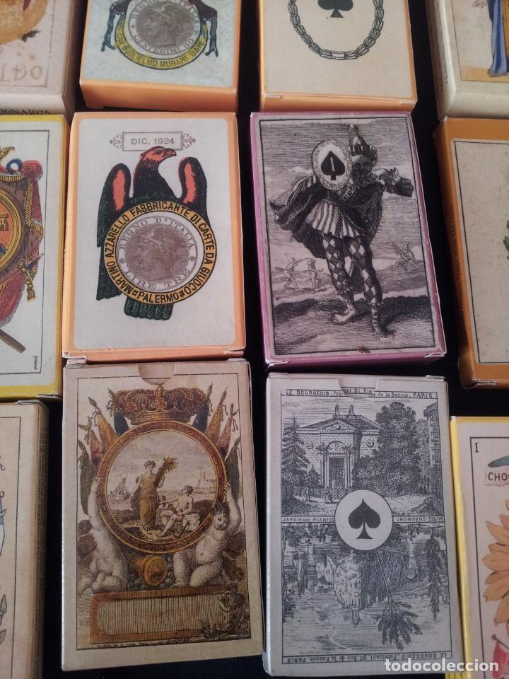 Barajas de cartas: LOTE DE 52 BARAJAS DE NAIPES FACSÍMILES DE LOS EJEMPLARES DEL MUSEO FOURNIER DE ALAVA. - Foto 8 - 132961918