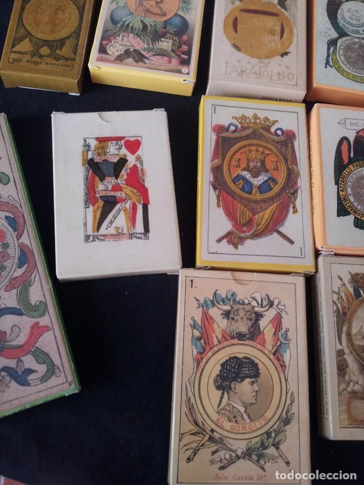 Barajas de cartas: LOTE DE 52 BARAJAS DE NAIPES FACSÍMILES DE LOS EJEMPLARES DEL MUSEO FOURNIER DE ALAVA. - Foto 9 - 132961918
