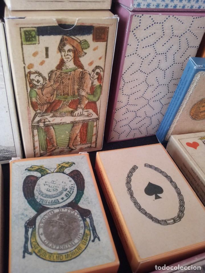 Barajas de cartas: LOTE DE 52 BARAJAS DE NAIPES FACSÍMILES DE LOS EJEMPLARES DEL MUSEO FOURNIER DE ALAVA. - Foto 12 - 132961918