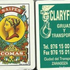 Barajas de cartas: CLARYFER - BARAJA ESPAÑOLA DE 40 CARTAS. Lote 133239122