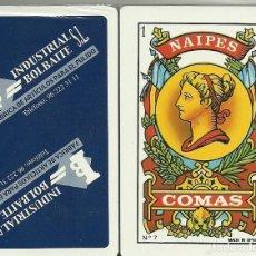 Barajas de cartas: INDUSTRIAL BOLBAITE - BARAJA ESPAÑOLA DE 40 CARTAS. Lote 133239822
