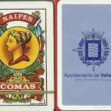 Barajas de cartas: AYUNTAMIENTO DE VALLADOLID - BARAJA ESPAÑOLA DE 40 CARTAS. Lote 133239942