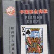 Barajas de cartas: BARAJA DE POKER -CHINO-PLAYING CARDS. Lote 133252022