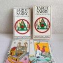 Barajas de cartas: TAROT SARRY CARTAS PRA BOTAR EDICIOS DO CASTRO 1977 DIFICILISIMO COMPLETO 48 CARTAS. Lote 139123489