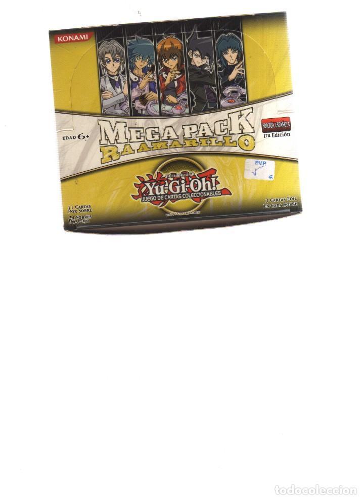 Yu Gi Oh Mega Pack Ra Amarillo Caja De 13 Sobre Comprar Otras