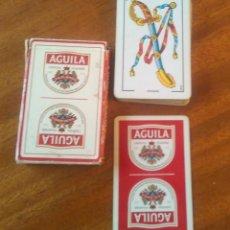 Barajas de cartas: CERVEZAS EL AGUILA. Lote 133308922