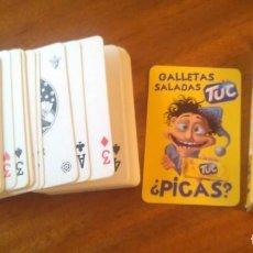 Barajas de cartas: GALLETAS SALADAS TUC. Lote 133309130