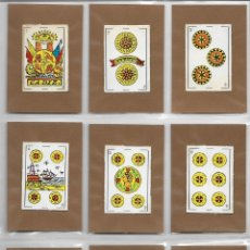 Barajas de cartas: ANTIGUA BARAJA ESPAÑOLA - 48 CARTAS - AIVA - CADIZ - (3,5X5,4). Lote 133311450