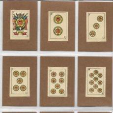 Jeux de cartes: ANTIGUA BARAJA ESPAÑOLA - 48 CARTAS - (3,5X5,4) (DORSO CALCOMANIAS ORTEGA). Lote 133311938