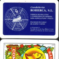 Barajas de cartas: CORDELERIA ROHERCA - BARAJA ESPAÑOLA 40 CARTAS. Lote 133323406
