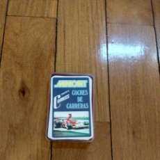 Barajas de cartas: BARAJA DE COCHES DE CARRERAS MINICART NAIPES COMAS 6,5X4,5CM. Lote 133450830