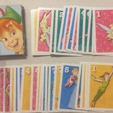 Barajas de cartas: BARAJA FOURNIER - PETER PAN DISNEY - 33 CARTAS. Lote 133466470