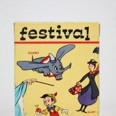 Barajas de cartas - Baraja De Cartas Infantil - Festival Walt Disney / 48 Cartas - Fournier - Completa - 133520370
