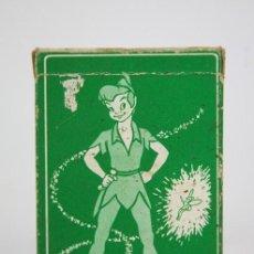 Barajas de cartas: BARAJA DE CARTAS INFANTIL- PETER PAN Y LOS PIRATAS WALT DISNEY / 44 CARTAS- FOURNIER, 1962 -COMPLETA. Lote 133521098