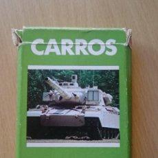 Barajas de cartas: BARAJA CARROS DE COMBATE FOURNIER AÑOS 80. Lote 133532906