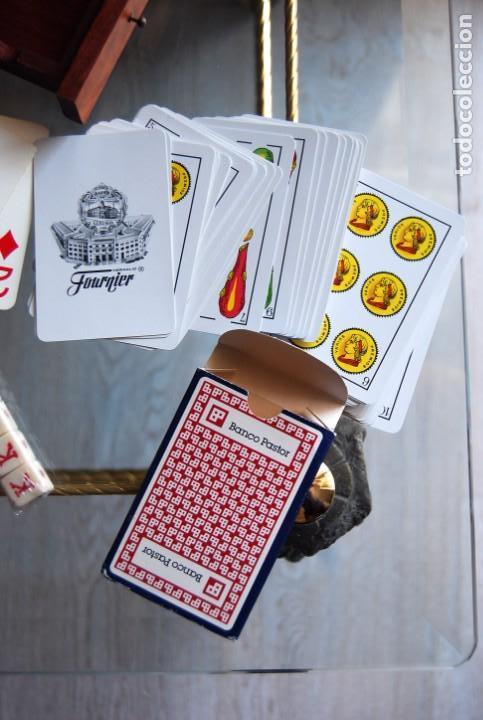 Barajas de cartas: CAJA DE MADERA DE CEDRO CON APLICACIONES DE LATÓN PARA BARAJA DE NAIPES Y POKER . - Foto 23 - 133636450