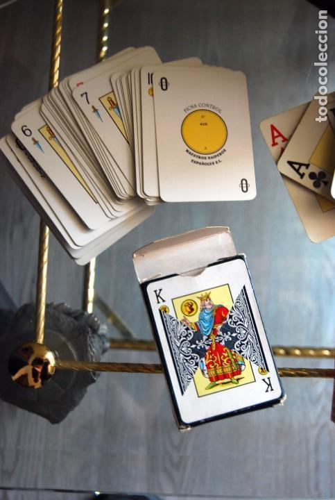 Barajas de cartas: CAJA DE MADERA DE CEDRO CON APLICACIONES DE LATÓN PARA BARAJA DE NAIPES Y POKER . - Foto 25 - 133636450