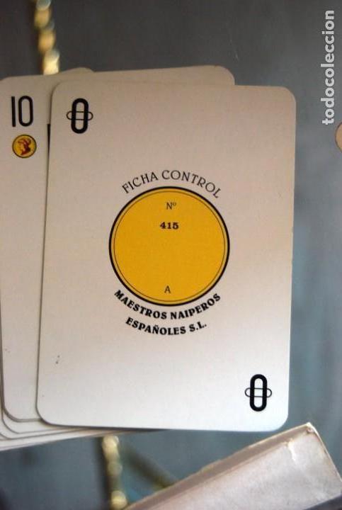 Barajas de cartas: CAJA DE MADERA DE CEDRO CON APLICACIONES DE LATÓN PARA BARAJA DE NAIPES Y POKER . - Foto 26 - 133636450