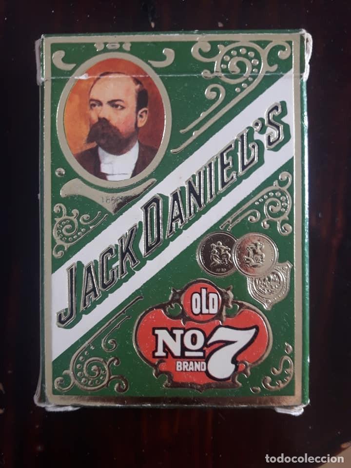 Barajas de cartas: BARAJA DE CARTAS DE PÓKER-JACK DANIELS Nº 7-WHISKY-56 NAIPES-CAJA VERDE - Foto 2 - 133819770