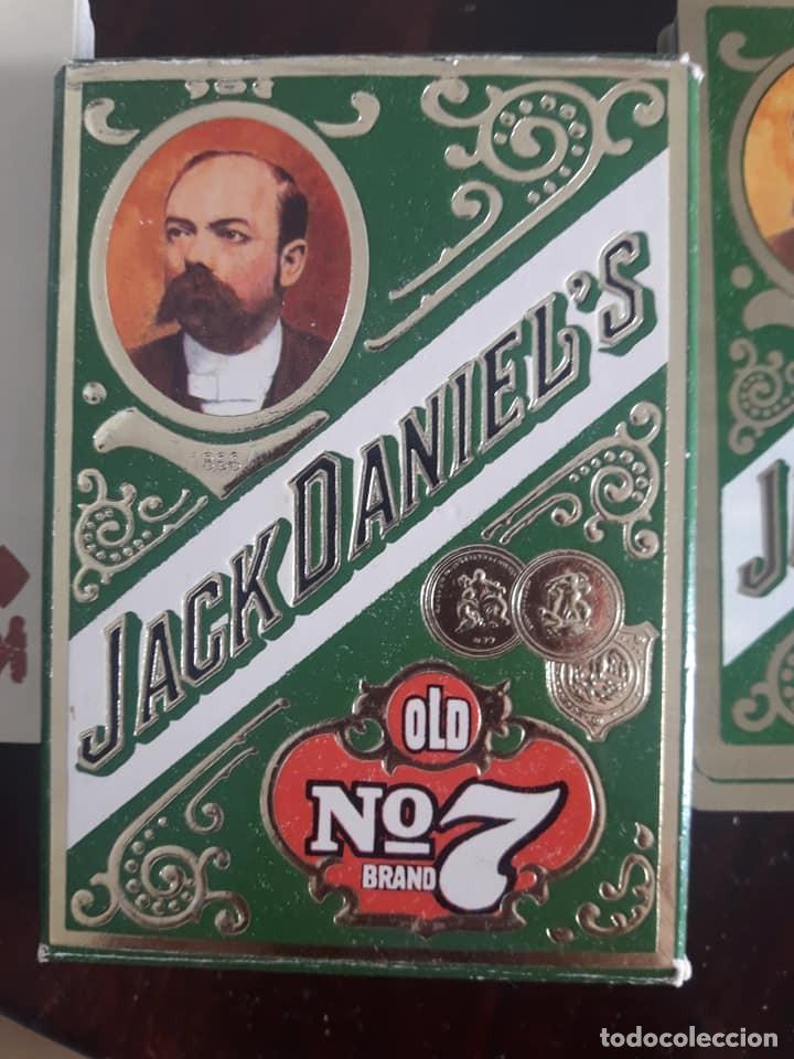 Barajas de cartas: BARAJA DE CARTAS DE PÓKER-JACK DANIELS Nº 7-WHISKY-56 NAIPES-CAJA VERDE - Foto 3 - 133819770