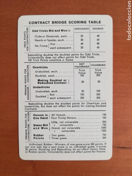 Barajas de cartas: Baraja Fournier publicidad Gulf - timbre sobre naipe Esquinas doradas - Vitoria - aceite motor oil - Foto 23 - 133863126