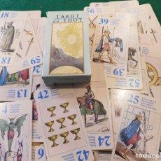 Barajas de cartas: TAROT DE THOT - LO SCARABEO. Lote 134034486