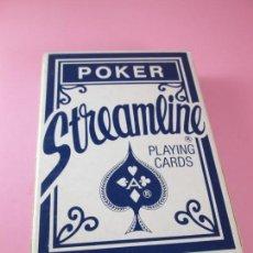 Barajas de cartas: *9976-BARAJA/CARTAS/NAIPES-STREAMLINE PLAYING CARDS-PÓKER-NUEVA-VER FOTOS. Lote 134049378