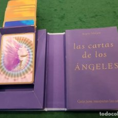 Barajas de cartas: LAS CARTAS DE LOS ÁNGELES - LIBRO + BARAJA - TIKAL. Lote 134183654