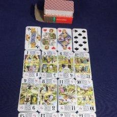 Barajas de cartas: ANTIGUA BARAJA DE CARTAS DE TAROT. LA DUCALE. FRANCIA.INSTRUCCIONES Y REGLAS COMPLETA . Lote 134375586