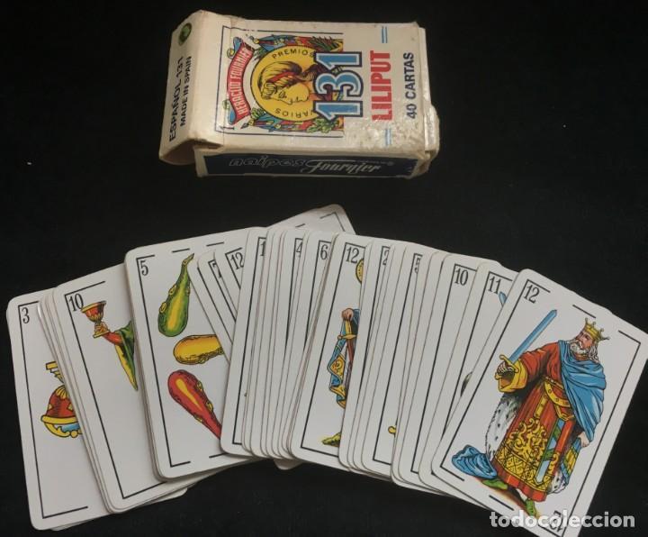 BARAJA DE 40 CARTAS NAIPE, LILIPUT, DE HERACLIO FOURNIER, COMPLETA (Juguetes y Juegos - Cartas y Naipes - Baraja Española)