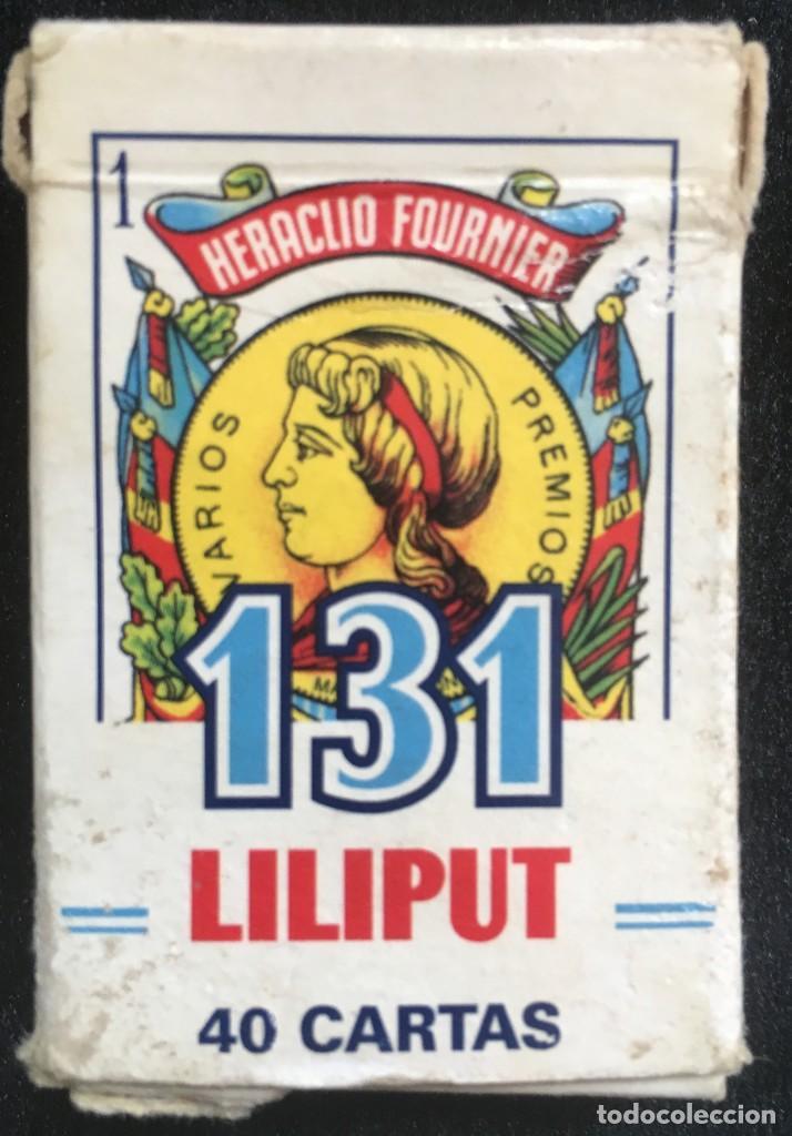 Barajas de cartas: BARAJA DE 40 CARTAS NAIPE, LILIPUT, DE HERACLIO FOURNIER, COMPLETA - Foto 3 - 134410974